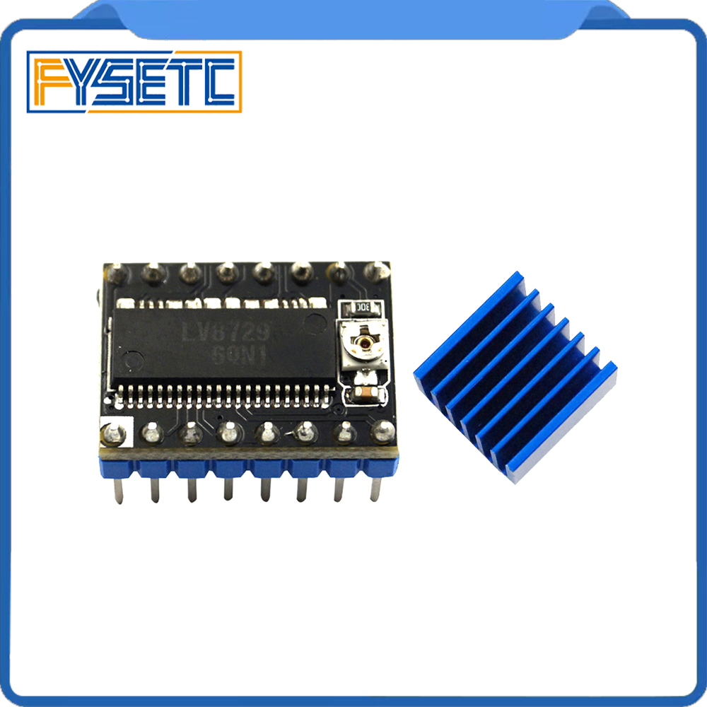 1PC 3D Printer Parts LV8729 Stepper Motor Driver 4-layer PCB Ultra Quiet Driver Module Compatible With Lerdge