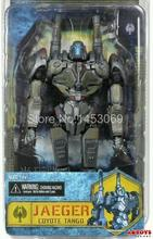 Free Shipping NECA Movie Pacific Rim Jaeger Coyote Tango 7″ PVC Action Figure Collection Model Toy