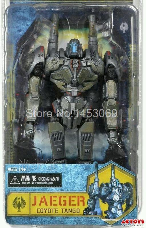 Free Shipping NECA Movie Pacific Rim Jaeger Coyote Tango 7 PVC Action Figure Collection Model Toy
