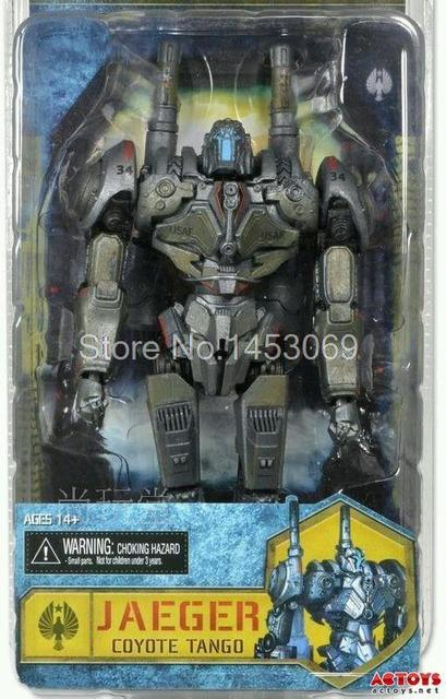 "Frete Grátis Filme NECA Pacific Rim Jaeger Coyote Tango 7 ""PVC Action Figure Toy Model Collection"