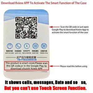 Image 5 - Funda de teléfono transparente con tapa para sony xperia XZ 3 XZ4, carcasa completa de cuero con espejo para sony xperia XZ 3 XZ 4