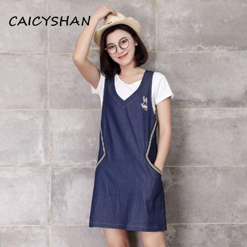Nové letní ženy šaty módní plus velikost krátké tričko a - Dámské oblečení