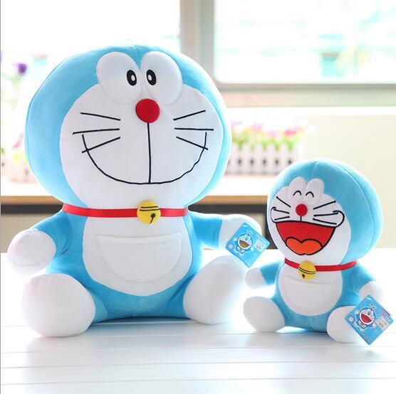 ФОТО 40CM The machine cat  lovely doraemon plush doll stuffed movie soft toy 2kinds