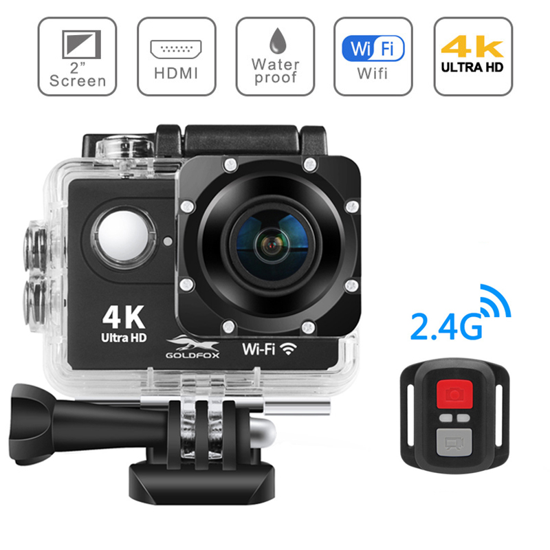 H9R Action Camera Ultra HD 4K / 25fps WiFi 2.0