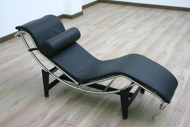 Steel Lounge Chair Black Wooden Dining Chairs Postmodern Classic Chaise Feature Stainless Leather Recliner Specials