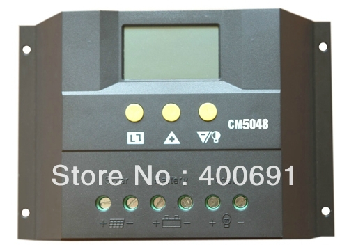 50A 48V PWM Intelligent solar charge and discharge controller with LCD Display, communication port, temperature compensation50A 48V PWM Intelligent solar charge and discharge controller with LCD Display, communication port, temperature compensation