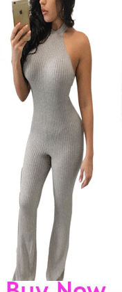 17046b52197 Polyester Sleeveless Sexy Low Cut V Neck Women Jumpsuit Long Pants Black  White Skin Tight Pants Stretch Full Bodysuit