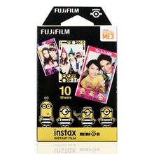 Белая пленка для Fuji Instax Мини Миньон DM3 Instant 10 пленка для Fuji Instax Mini 7 s 8 8+ 9 25 50 s 70 90 300 SP-1 2 принтер