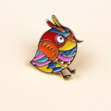 Cartoon Colorful Rock Enamel Pins