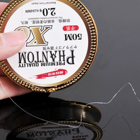 Hot Sale 50M Fishing Reel Wire Nylon Fishing Line Super Strong Fishing Tackle Import The Original