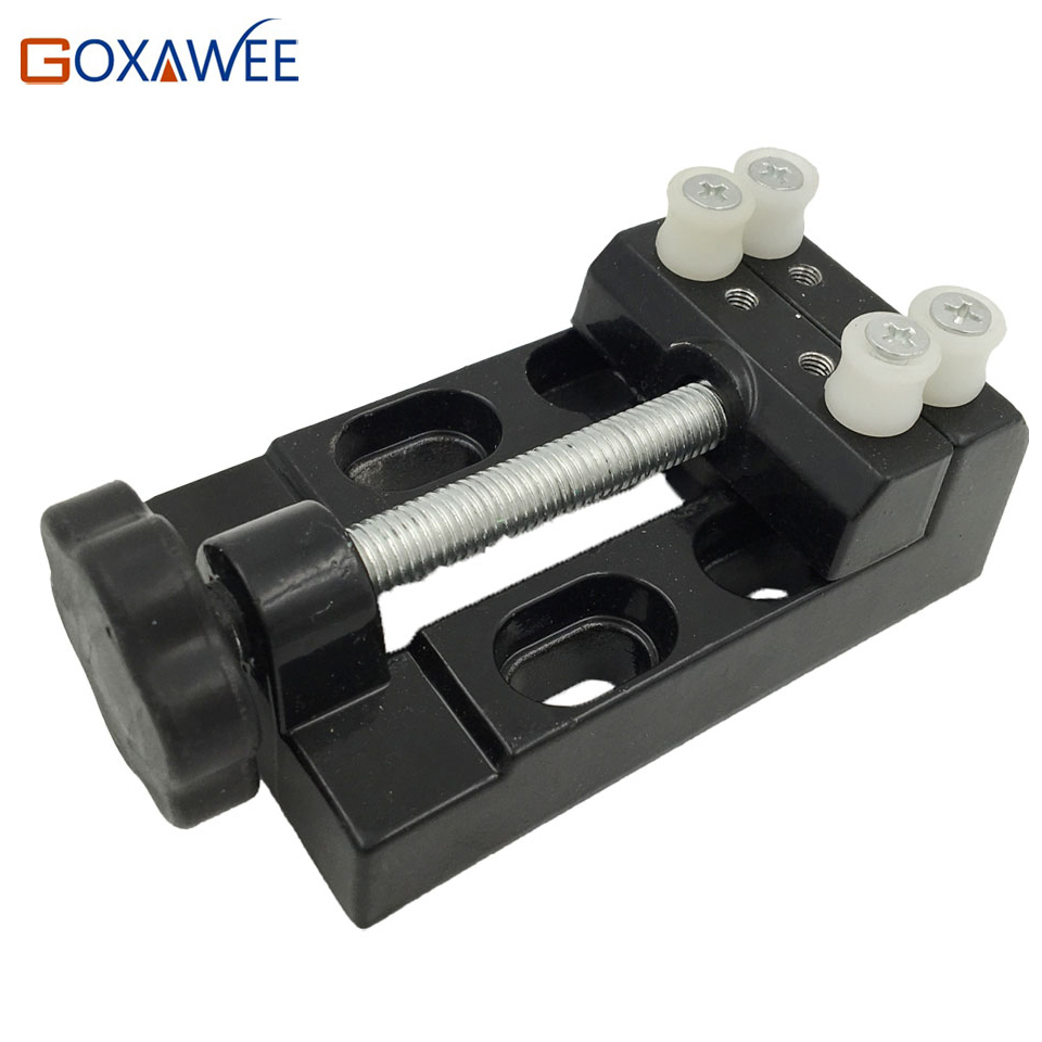 GOXAWEE Mini Table Vice dremel rotary tool  Screw Bench Vise for DIY Jewellery Craft Mould Fixed Repair Tool Dremel tools  mini table vice aluminium alloy bench vise universal machine mini fixed repair tool widely used for diy craft clamp vise