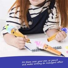 HIINST антистресс насадка на карандаш медленно поднимающийся наконечники на карандаш с ароматом фруктов, игрушка для снятия стресса игрушка 19APR25 P35