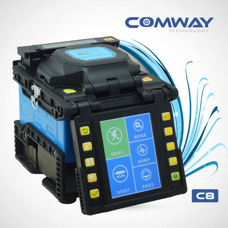 Comway Fusion Splicer Comway C8 Splicing Machine Equal To