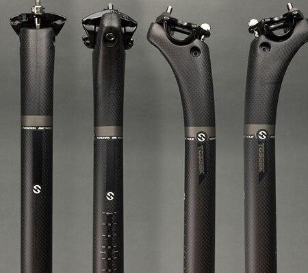 ASIACOM Carbon MTB Road Bike Seatpost Ultralight Seat Post 25.4//27.2//30.8//31.6mm