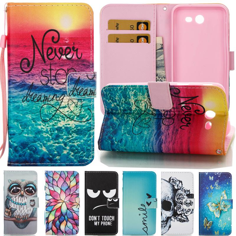 For Coque Samsung Galaxy J3 2017 Case Leahter Wallet Phone Case Samsung Galaxy J3 2016 Case Flip Cover For Samsung J3 Prime Capa writing