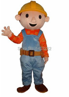 High quality sale Bob the Builder mascot costume adult size free shipping