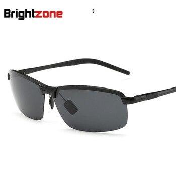 Aluminum Sunglasses Full Aluminum Magnesium Polarized Sun Glasses Motion Fund Driver Sunglasses oculos de sol gafas