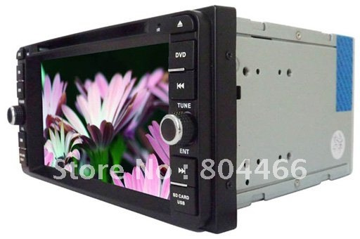 Wholesales Special In-Dash Car DVD Player for TOYOTA with GPS TV Touch-Screen Radio Bluetooth MP4 MP3 IPOD USB SD IPOD Free map
