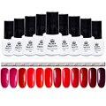 1 Bottle Nail Gel Born Pretty Soak Off UV Gel 5ml  Red Series Nail Art Gel Polish 12 Candy Colors #37-48