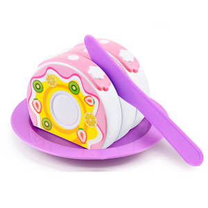 Image 4 - 12 31PCS Cutting Fruit Vegetable Food Pretend Play Do House Toy Childrens Kitchen Kawaii Educational Toys Gift for Girl Kids