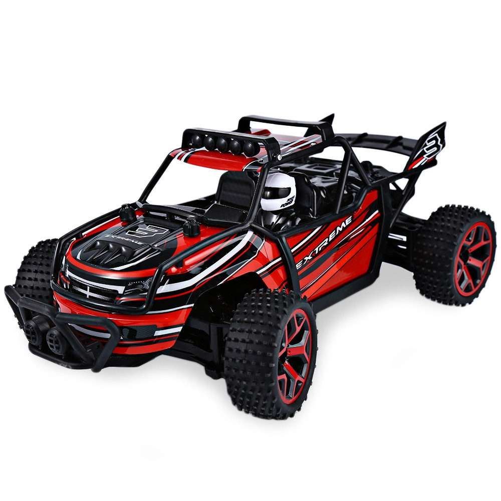 High Speed RC Car 1 : 18 4WD Drift Remote Control Cars Racing Car Model Toys Speed Buggy Big Foot Off-Road Vehicle Toy Kid Gifts rc car 1 16 2 4g 4ch hummer off road vehicle high speed drift racing muscle suv car damping toy car for children gifts