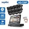 ANNKE HD 1080N 8CH DVR 1 3MP 960P 1500TVL Outdoor IR CUT Home Video Security Camera