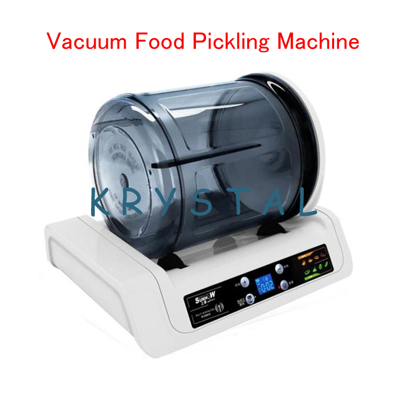 7L Electric Vacuum Food Pickling Machine Household Vacuum Food Marinator Commercial Meat / Fried Chicken Marinator KA-6189 7l electric vacuum food pickling machine household vacuum food marinated machine commercial meat fried chicken marinator ka 6189
