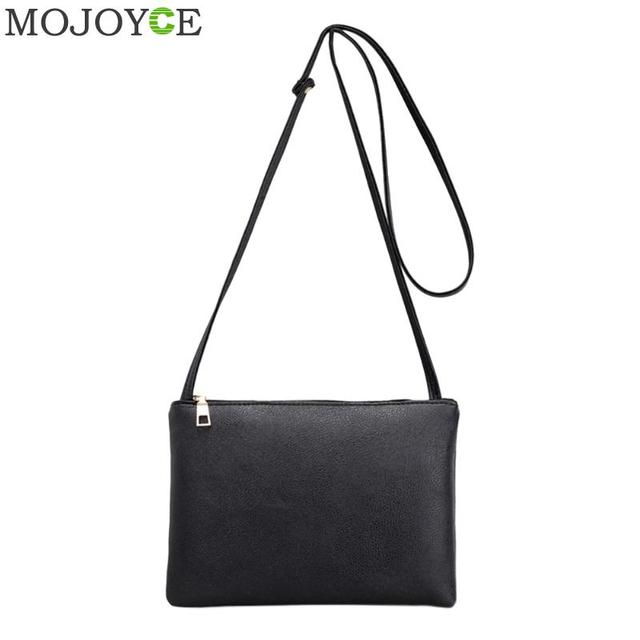 16d70366eda9 US $3.17 31% OFF Classic Women PU Leather Bag Fashion Simple Small Shoulder  Bag Candy Color Mini Messenger Bags New Designer Women Phone Bags-in ...