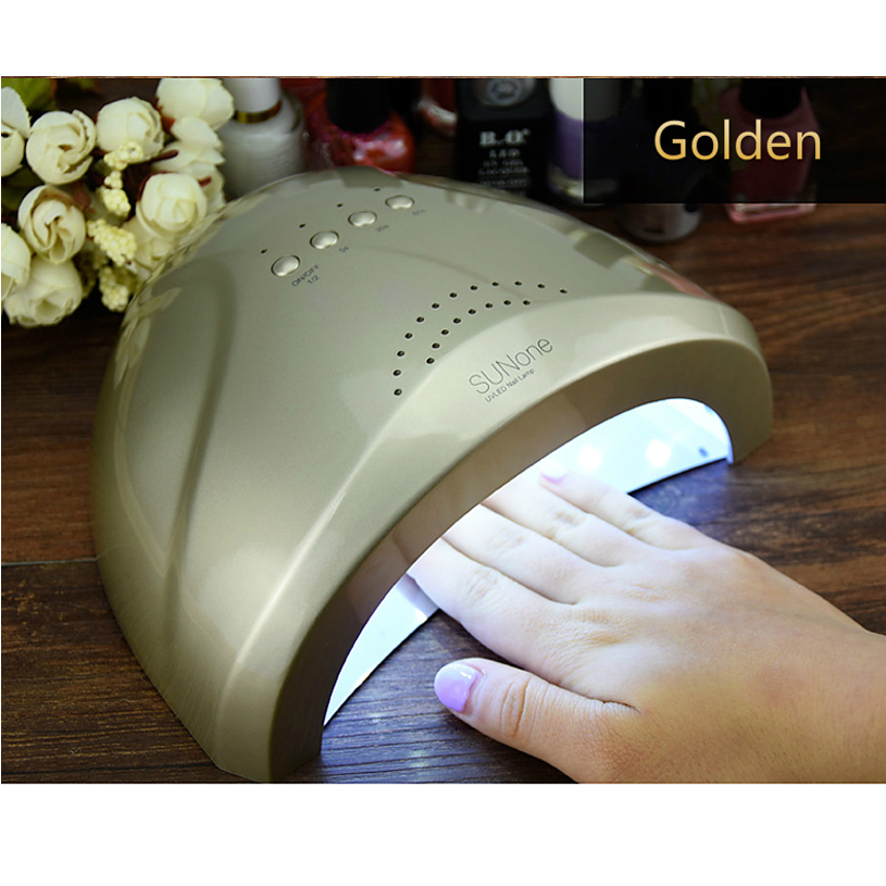 SUNone Nail Dryer LED UV Lamp Nail 24W / 48W Сұлулық салоны Макияж Cosmetic Nail Dryer Polish Machine for Nail Art Tools