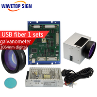 Sunny Usb Control Board Fiber Scanning Lens Beam Combination Mirror Galvanometer Power Box