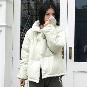 Image 2 - סתיו חורף מעיל נשים מעיל אופנה נשי Stand חורף מעייל דובון חם מזדמן בתוספת גודל מעיל מעיל מעיילי Q811