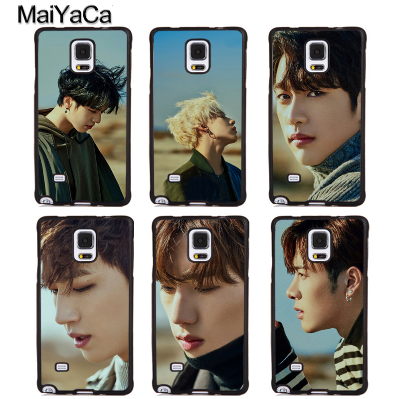 MaiYaCa KPOP GOT7 BAMBAM Mark JB JR Rubber Phone Cases For Samsung Galaxy S6 S7 edge plus S8 S9 plus Note 4 5 8 Back Coque Cover