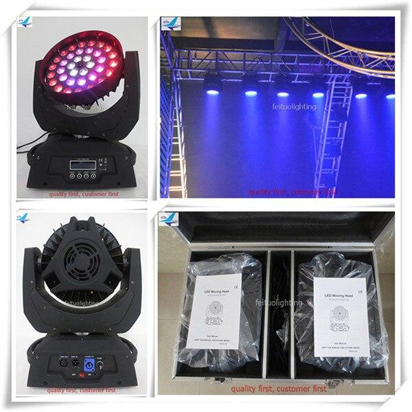 (12lot/CASE)Show lighting lyre led dmx wash head 18w led moving head zoom led moving head wash 36 18