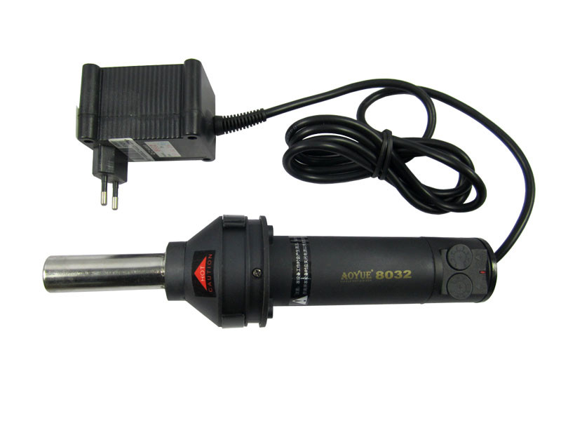 Aoyue 8032 30L /min 420w desoldering station portable heat gun BGA rework solder station hand hot air gun f 204 mobile phone laptop bga rework reballing station hot air gun clamp
