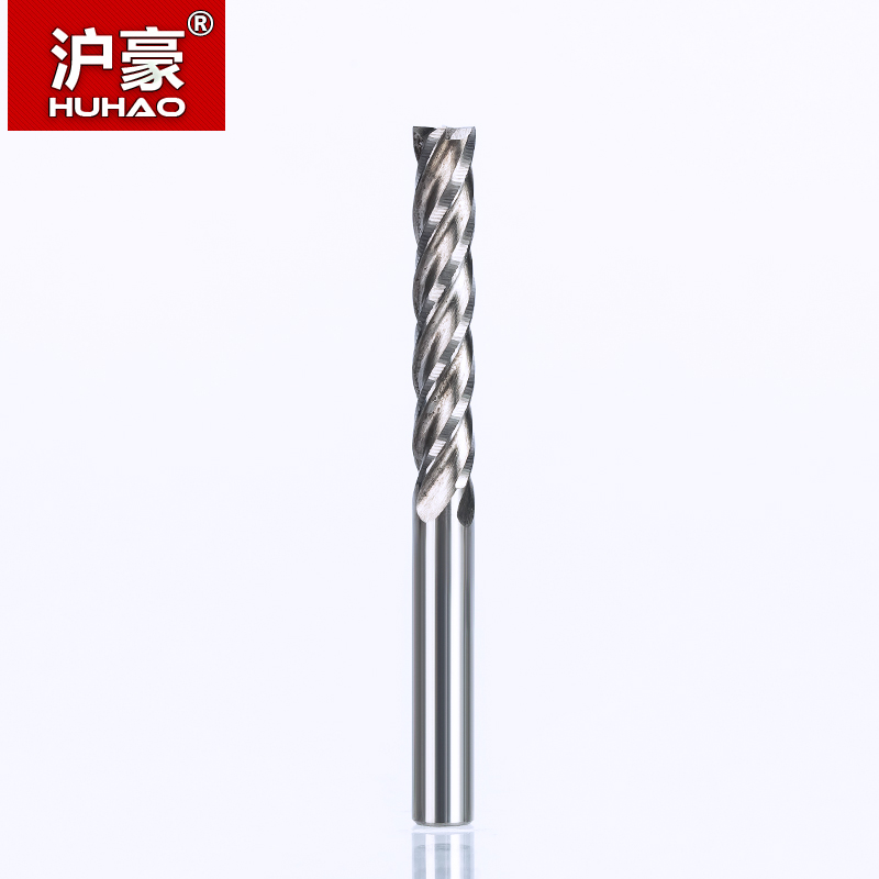 HUHAO 1PC 4mm 4 flöötspiraalse otsaga freeslõikur CNC ruuteri - Tööpingid ja tarvikud - Foto 3
