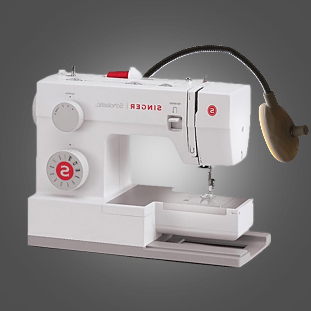 Kaigelin 19LEDs 1.5W Sewing Machine LED Light Adjustable Brightness Work Light With Magnet Bendable Gooseneck Lamp New Arrival