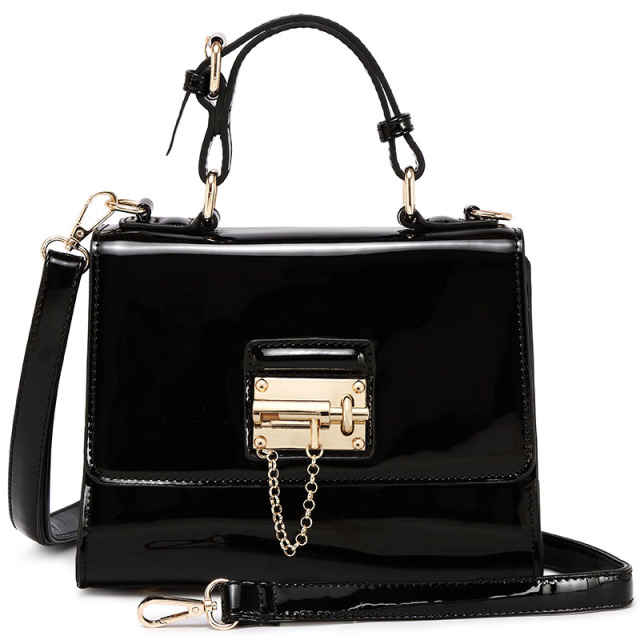 Women Patent Leather Handbags Messenger Shoulder Bags Korean Version Famous Brand Fashion Style