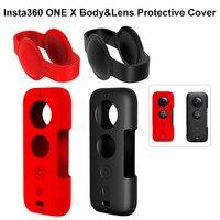 Insta360 One X Caso Lente Caso Insta 360 Scratchproof Protetor Capa de Silicone Protetora para Insta360 One X Acessórios