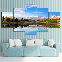 HD Print Painting Wall Art Canvas Living Room Modern Decor Picture Poster 5 Piece Landscape Artwork