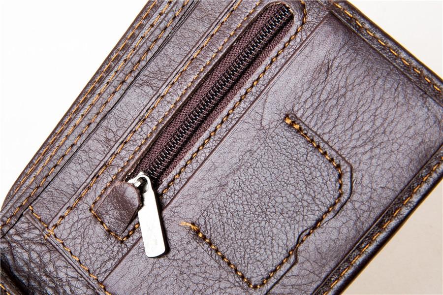 MRF1 RFID блокирующий кошелек для мужчин из натуральной коровьей кожи винтажные кошельки защита от кражи личных данных сумка для денег держатель для карт клатч кошельки