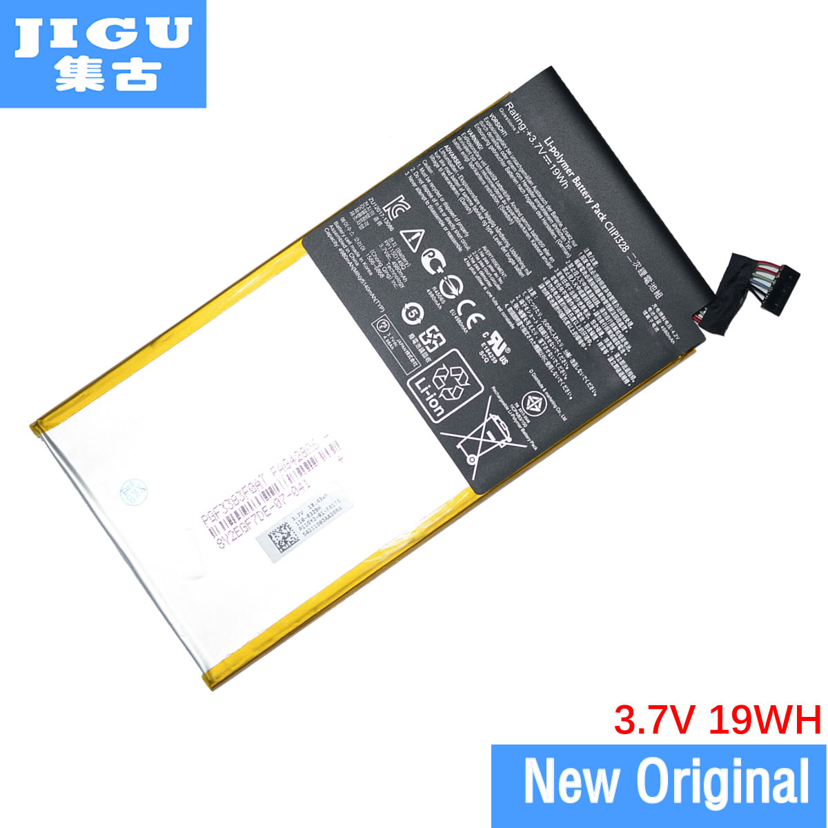 JIGU Original Laptop Battery C11P1328 For ASUS TF103CG TF103CX TF103C TF103CG TF103CX TF103CX-1A010A TF103CX-1B013A