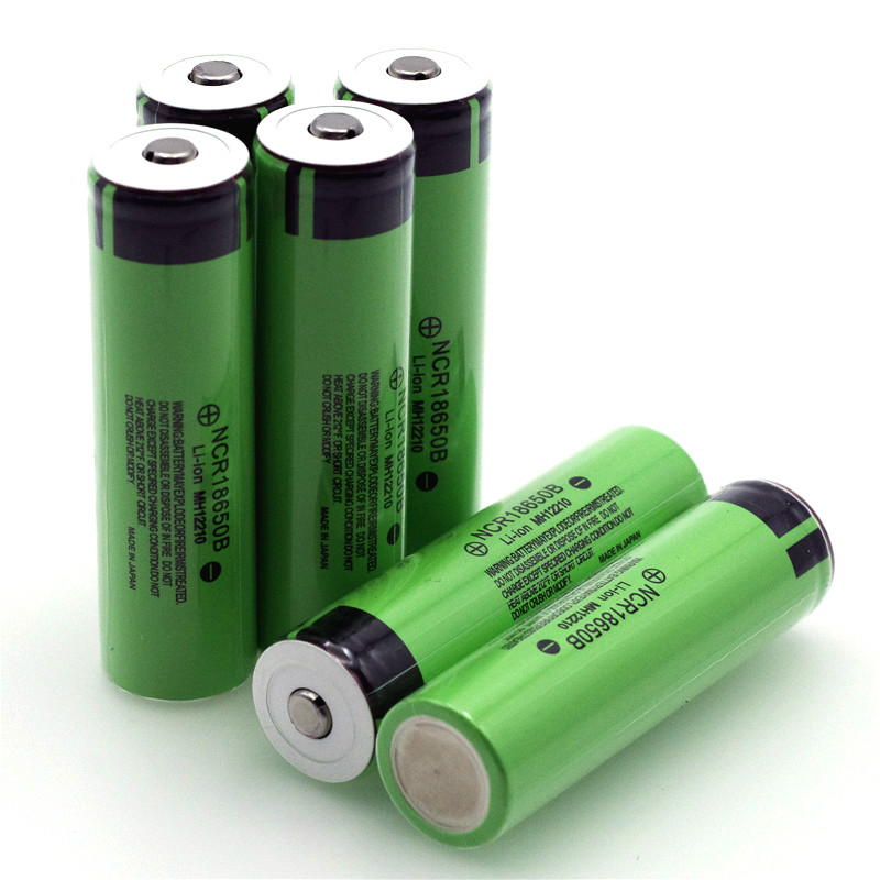 VariCore Original 18650 3.7 v 3400 mah Lithium Rechargeable Battery NCR18650B with Pointed(No PCB) For flashlight batteries-in Replacement Batteries from Consumer Electronics