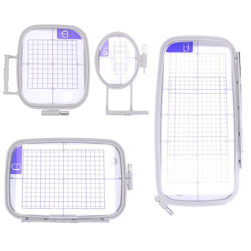 Multi Function Embroidery Frame Craft Cross Stitch Needlework Sewing Hoop Parts Set Sewing Machine For Brother PC6500 8200 8500