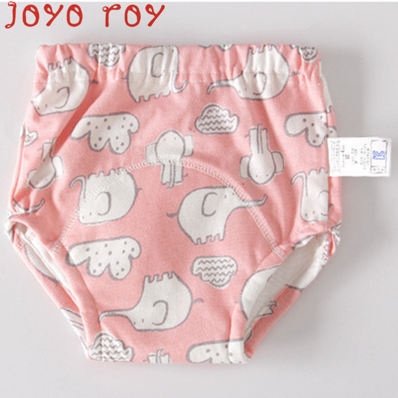Joyo Roy Baby Diaper Baby Cartoon Training Pants Learning Pants Breathable Insulation Diapers Children Mesh Cloth Diapersdwq023R