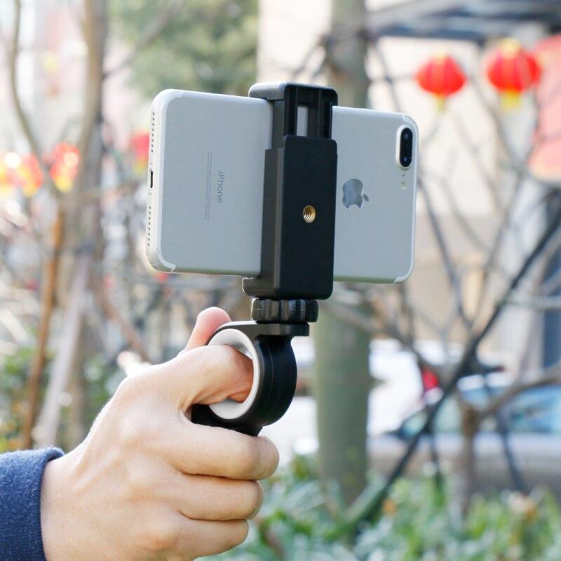 Ulanzi Handheld Smartphone Video Rig Articulating Gopro Mount Handle Grip for iPhone X 8 gopro 6 EKEN H9 youtube live stream