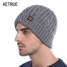 Brand Winter Beanies Men Winter Hats For Men Women Knitted Hat Bonnet Fashion Caps Skullies Black