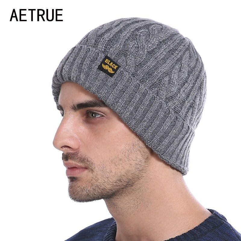 Brand font b Winter b font Beanies Men font b Winter b font Hats For Men