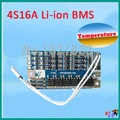 4S 16A 14.8 V 16.8 V li-ion BMS PCM bms pcm protección con equilibrio de litio LicoO2 Limn2O4 batería 18650 li batería