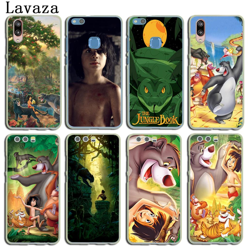 Lavaza Cartoon The Jungle Book Cover Case for Huawei P20 P10 P9 Plus P8 Lite Mini 2015 2016 2017 P smart Mate 9 10 Lite Pro