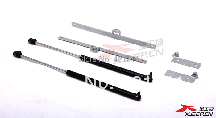 Hydraulic support rod for Suzuki Jimny, hood bracket support